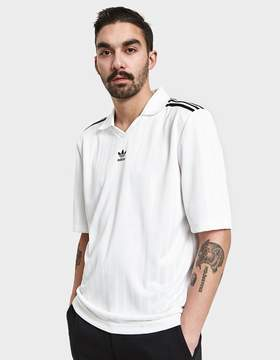adidas Football Jersey in White