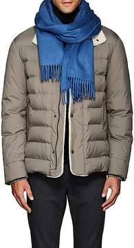 Loro Piana Men's Solid Cashmere Flannel Scarf