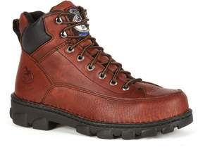 Georgia Boot Eagle Light Wide Load Men's 6-in. Steel-Toe Work Boots