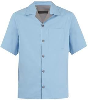 Prada Cotton-blend bowling shirt