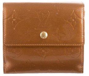 Louis Vuitton Vernis Elise Wallet - GOLD - STYLE