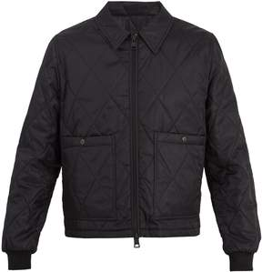 Ami Patch-pocket quilted jacket