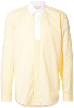 Cerruti long sleeve subtle stripe shirt