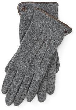 Ralph Lauren Lauren Wool-Blend Touch-Screen Gloves