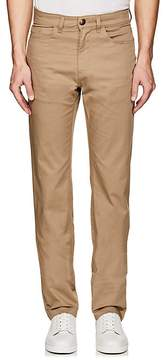Luciano Barbera MEN'S STRETCH-COTTON 5-POCKET PANTS