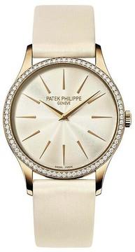 Patek Philippe Calatrava Ladies Diamond Watch