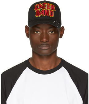 DSQUARED2 Black Caten Band Baseball Cap