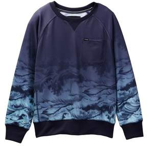 Hurley Ocean Waves Sweatshirt (Big Boys)