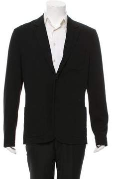 James Perse Woven Two-Button Blazer