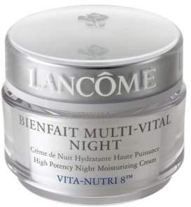 Lancome Bienfait Multi-Vital High Potency Night Moisturizing Cream/1.7 oz.