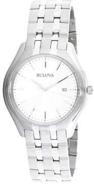 Bulova Men's 96B264 Silver Stainless-Steel Japanese Quartz Dress Watch