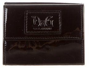 Dolce & Gabbana Patent Leather Coin Wallet