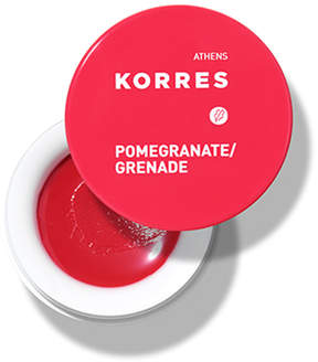 Korres Lip Butter - Pomegranate by 0.21oz Lip Balm)