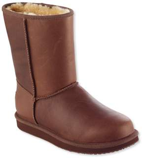 L.L. Bean L.L.Bean Women's Wicked Good Shearling Boots, Mid