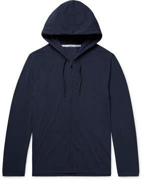 Calvin Klein Underwear Stretch Modal And Cotton-Blend Jersey Zip-Up Hoodie