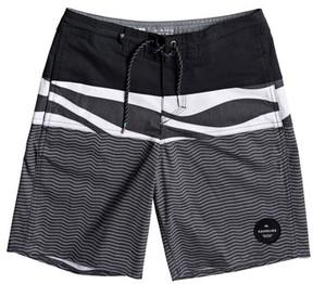 Quiksilver Boy's Heatwave Blocked Beach Shorts