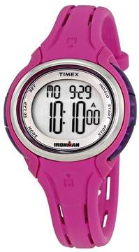 Timex Ironman Digital Pink Silicone Ladies Watch