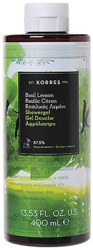 Korres Basil Lemon Shower Gel.