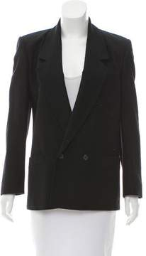 Christian Dior Wool Notch-Lapel Blazer