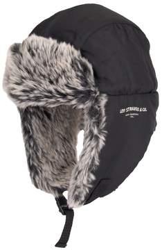 Levi's Men's Faux-Fur Trapper Hat