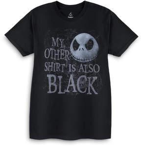 Disney Jack Skellington Black T-Shirt - Men