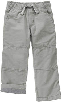Gymboree Dove Gray Lined Gymster Pants - Infant & Toddler