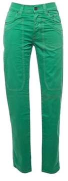 Jeckerson Men's Green Cotton Pants.