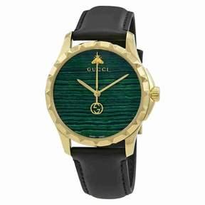 Gucci G-Timeless Malachite Green Dial Men's Watch YA126463