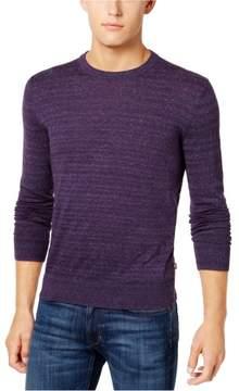 Michael Kors Tri-Color Knit Pullover Sweater Purple 2XL