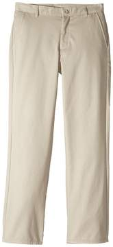Nautica Regular Flat Front Twill Double Knee Pants Boy's Casual Pants