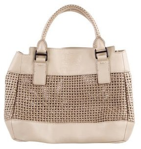 Burberry Leather Shopper Tote - NEUTRALS - STYLE