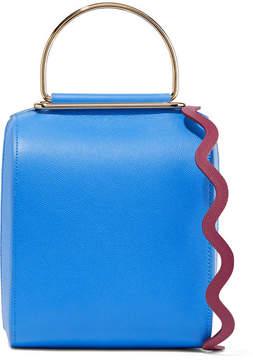 Roksanda - Besa Textured-leather Shoulder Bag - Blue