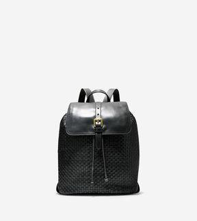 Cole Haan Loralie Weave Backpack