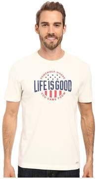 Life is Good Remember LIG Crusher Tee Men's T Shirt