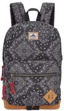 Steve Madden Unisex Bandana Everyday Backpack Black