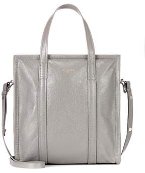 Balenciaga Bazar S leather shopper