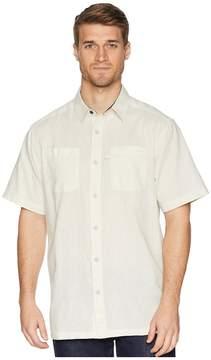 Columbia Harborside Linen Camp Shirt Men's Short Sleeve Button Up
