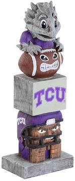 Evergreen Texas Christian Horned Frogs Tiki Totem