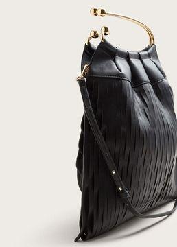 Violeta BY MANGO Laser-cut design bag