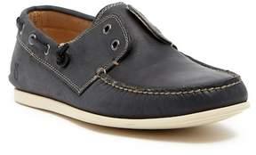 John Varvatos Collection Schooner Linen Boat Shoe