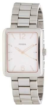 Fossil Women's Atwater Bracelet Watch, 28mm x 34mm