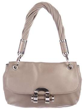 Michael Kors Leather Handle Bag - GREY - STYLE