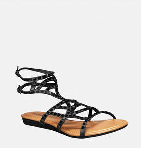 Avenue Shimmer Mirrored Gladiator Sandal