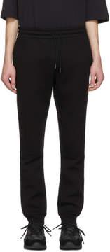 Diesel Black Gold Black Biker Lounge Pants