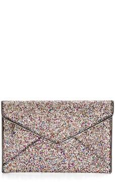 Rebecca Minkoff Glitter Leo Clutch - ONE COLOR - STYLE