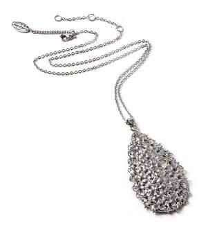 Amrita Singh Silvertone Renee Pendant Necklace