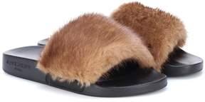 Givenchy Fur slides
