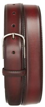 Canali Men's Hand Buffed Calfskin Belt