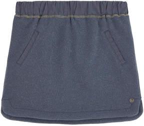 3 Pommes Fleece skirt
