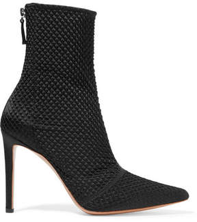 Altuzarra Elliot Matelassé Ankle Boots - Black